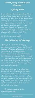 wedding quotes non religious contemporary non religious ceremony
