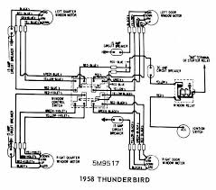 1958 edsel ranger wiring circuit and wiring diagram