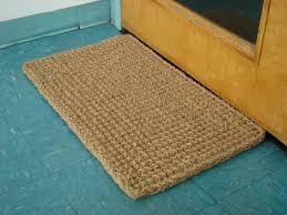 coir doormat coir doormat small plaid coir doormat 18 x30 hearth