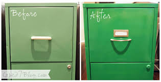 How To Paint A Filing Cabinet File Cabinet Makeover