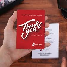 thank you postcards custom thank you cards uprinting