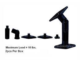 Speaker Wall Mounts Adjustable 10 Lb Capacity Speaker Wall Mount Brackets Pair