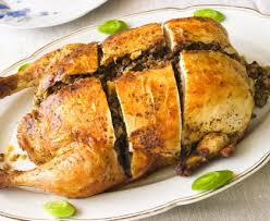 cuisiner poule poulet farci au foie gras recette de poulet farci au foie gras
