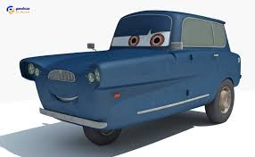 cars movie characters characters cars 2 3d model