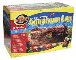 Log Decor Amazon Com Zoo Med Floating Aquarium Log Large Aquarium Decor