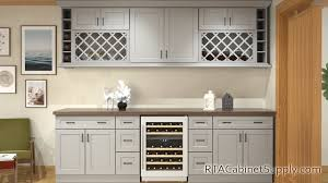 oak kitchen cabinets with glass doors salem dove shaker ready to assemble kitchen cabinets