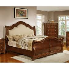 bedroom popular king size sleigh bed design ideas