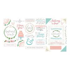 wedding scrapbook stickers becky higgins project southern weddings edition