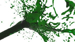 green screen paint brush animation stock footage video 7063681