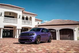 jeep purple purple jeep srt8 velgen wheels classic5 satin bronze 22x10 5