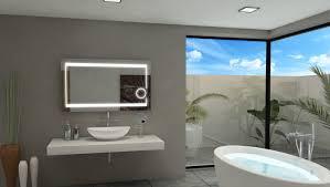 Wayfair Bathroom Mirrors - clever design illuminated bathroom wall mirror mirrors with lights