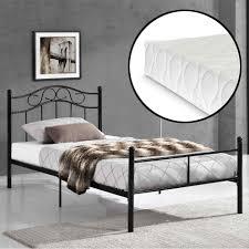 Schlafzimmer Bett Metall Kopfteil X Cm Ohne Kopfteil Bett Metall Schwarz Kopfteil Bett