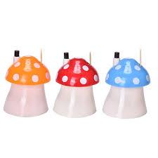 online shop haodeba 1pcs mushroom home decor toothpick cotton swab