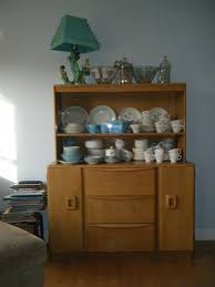 heywood wakefield china hutch and a growing vintage dish problem heywood wakefield china hutch