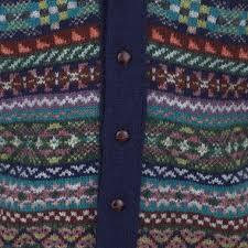 fair isle fair isle shawlneck waistcoat cardigan the ernest authentic fair