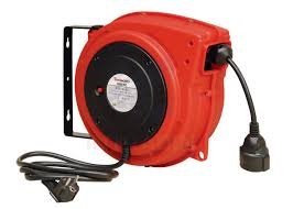 impact resistant polypropylene electric cable reel with over load