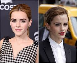 emma watson looks like emma watson and kiernan shipka are starting to look exactly alike