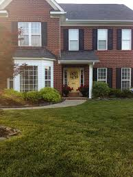 Exterior House Color Ideas by Red Brick House Trim Color Ideas Part 9 Exterior House Colors