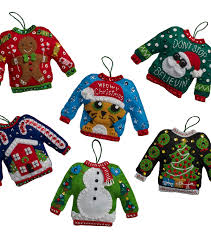 Ugly Christmas Ornament Bucilia Ugly Sweater Ornaments Felt Applique Kit 6 Pack Joann