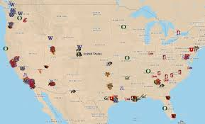 Asu Map National Signing Day 2015 Pac 12 Pulls Recruits From Across