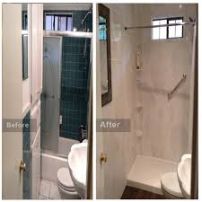 just shower doors small bath remodel bath and shower remodeling i chicago bathroom