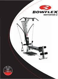 bowflex home gym motivator 2 user guide manualsonline com