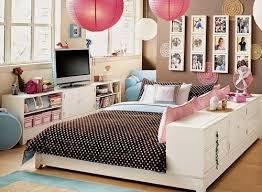 deko für jugendzimmer farbkombination im mädchenzimmer mit rosa und braun einrichten