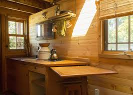 Tiny House Kitchens Dee U0027s Kozy Kabin Tiny House Plans Padtinyhouses Com