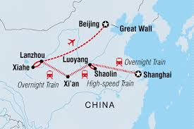 China Train Map by Explore China China Tours Intrepid Travel Au
