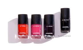 chanel le vernis longwear nail color and le gel coat longwear top