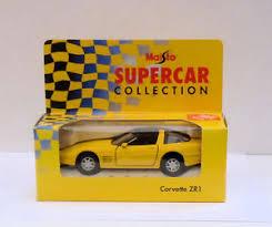 corvette zr1 yellow maisto supercar collection corvette zr1 yellow boxed ebay