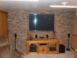 Stone Wall Living Room by Stone Accent Wall Ideas Interesting Corner Stone Fireplace Accent