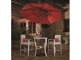 Obravia Treasure Garden Umbrella by Treasure Garden Market Aluminum 9 Foot Collar Tilt Crank Lift