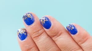 glitter nails tutorial the easiest way to create sparkly nail art