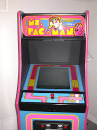 Ms Pacman Cabinet Ms Pac Man Chompingquarters Com