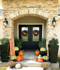fall entry home decor southern home with style
