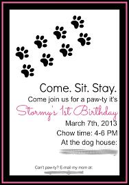 7 pet invitations images dog parties birthday