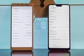 Redmi Note 5 Pro Oppo F7 Vs Xiaomi Redmi Note 5 Pro Benchmarks Comparison