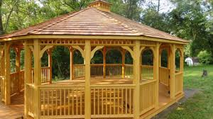 gazebo its best construction place peaceful location