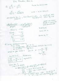 Rational Expression Worksheet Rational Equations Worksheet Doc Solving Rational Equations