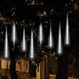 gemmy led lightshow shooting icicle lights multi