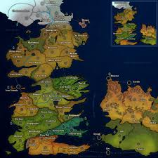 Map Of Essos Dominating 12 Westeros U0026 Essos