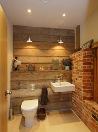 Houzz Rustic Bathrooms - rustic toilet houzz