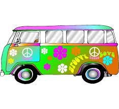volkswagen van hippie hippie retro vw bus photo op