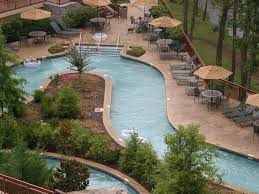 Backyard Pool With Lazy River by Luxury Riverstone Condo Large Heated Homeaway Pigeon Forge