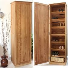 tall narrow bookcase oak conran solid oak furniture shoe cupboard cabinet tall hallway