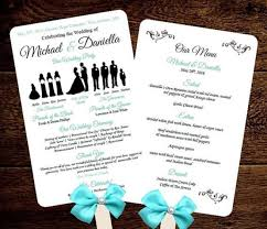 free printable wedding program fans 28 images of template fan party leseriail