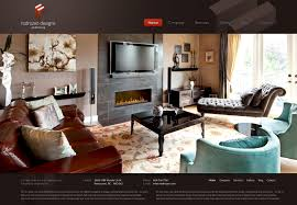interior design company website on behance
