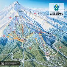 Map Of Colorado Ski Areas by Mt Hood Meadows Ski Resort Trail Map Going To Spend Some Time