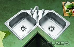 undermount corner kitchen sinks stainless steel